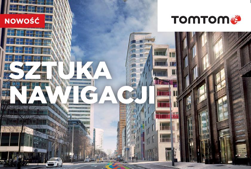 TomTom GO Premium – nowoczesna nawigacja z IFTTT