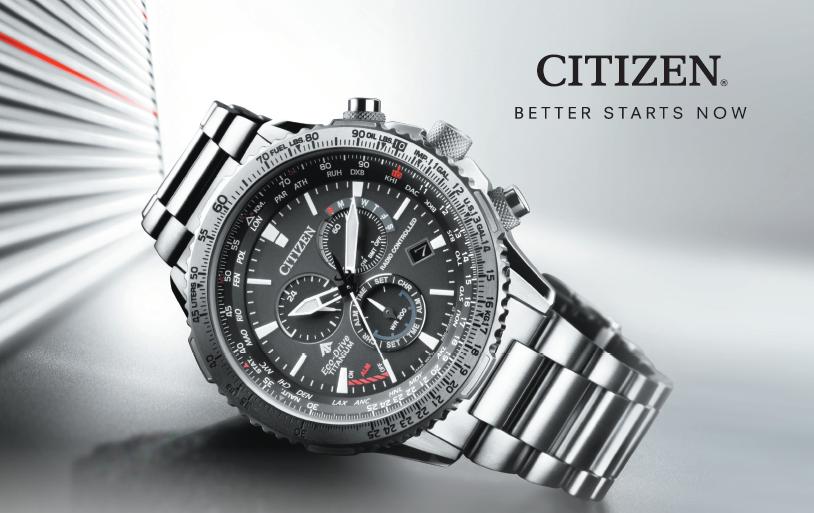 citizen zegarek better starts now
