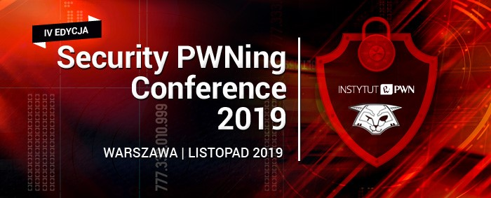 security pwning conference 2019 it