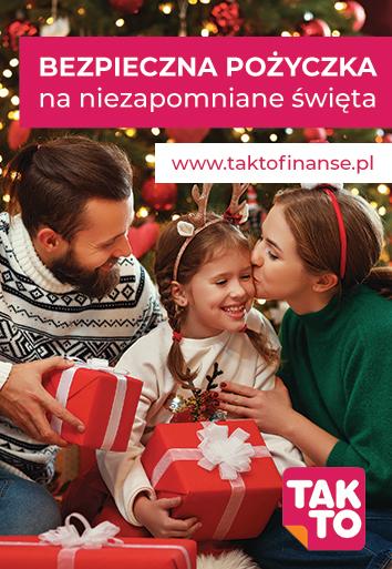 Bezpieczna pożyczka na niezapomniane święta taktoeasy takto finanse